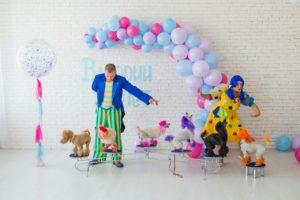 Шоу цветных пуделей