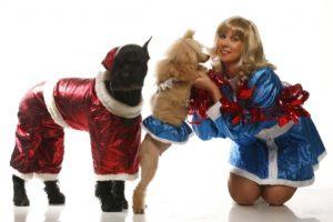 Представление с собаками в Москве